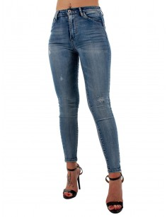 MISS BONBON超级紧身牛仔裤