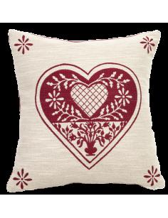 Cuscino decorativo rosso