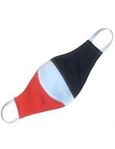 蓝白红三色可洗口罩