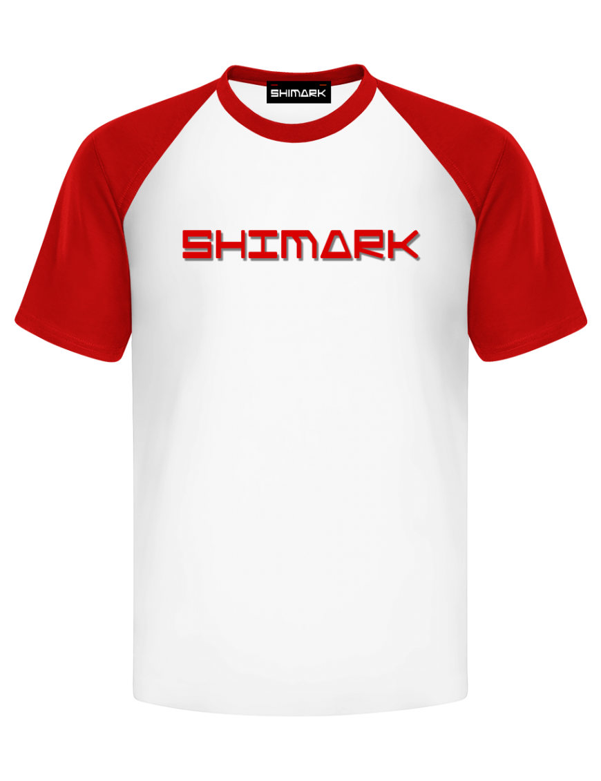 SHIMARK印字体恤衫