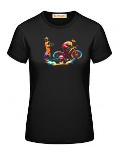 T-shirt stampata bici