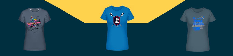 T-shirt  top da donna